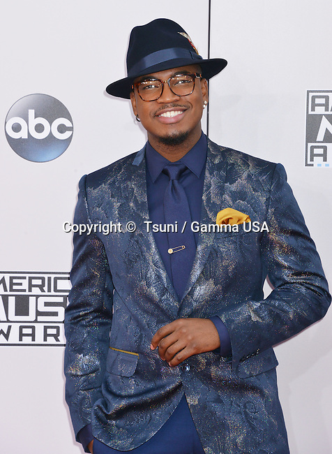 Ne-Yo 156 at the 2014 American Music Awards arrival at the Nokia Theatre on Nov. 23, 2014, in Los Angeles.