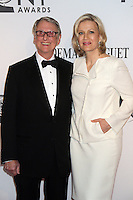 Mike Nichols and Diane Sawyer at the 66th Annual Tony Awards at The Beacon Theatre on June 10, 2012 in New York City. Credit: RW/MediaPunch Inc. NORTEPHOTO.COM