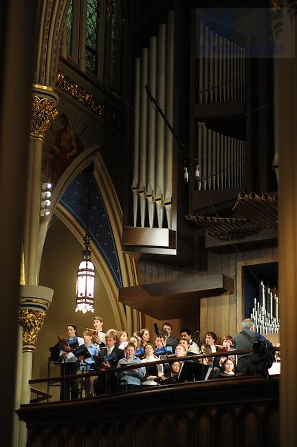 Folk Choir at the Basilica