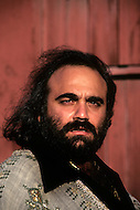 Beverlly Hills, Los Angeles, California - October 13th, 1979. The portrait was taken at  Demis Roussos's home in Beverly Hills. Demis Roussos (born June 15, 1946) is a Greek singer and performer who had a string of international hit records. He has sold over 60 million albums worldwide.