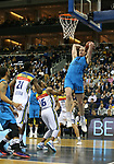 19.03.2019, Mercedes Benz Arena, Berlin, GER, EuroLeague/EuroCup, ALBA ERLIN vs.  MoraBanc Andorra, <br /> im Bild Dennis Clifford (ALBA Berlin #33), Moussa Diagne (Andorra #21), Andrew Albicy (Andorra #16)<br /> <br />      <br /> Foto &copy; nordphoto / Engler