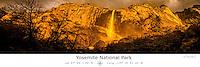Yosemite National Park with Latitude and Longitude