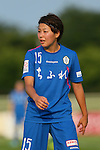 Saori Takahashi (Elfen), <br /> JULY 12, 2015 - Football / Soccer : <br /> 2015 Plenus Nadeshiko League Division 1 <br /> between NTV Beleza 1-0 AS Elfen Saitama <br /> at Hitachinaka Stadium, Ibaraki, Japan. <br /> (Photo by YUTAKA/AFLO SPORT)