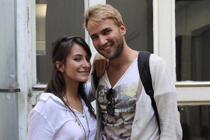 Studenten: Alisa Cajic und Boris Kargotic studieren an der Akademie der Darstellenden Künste Schauspiel.  In  Sarajevo gibt es erfolreiche Film und Theaters Festivals