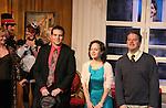 "Curtain Call - cast Ellen Dolan - Mark Smith Rivera - Kelly Ann Burns - Jonathan Weber - Natalie Smith - Daniel Damiano - Tartuffe - opening night January 15, 2011 of Moliere's ""Tartuffe"" from Jan. 13 to Jan 29 at the WorkShop Theatre, New York City, New York. (Photo by Sue Coflin/Max Photos)"