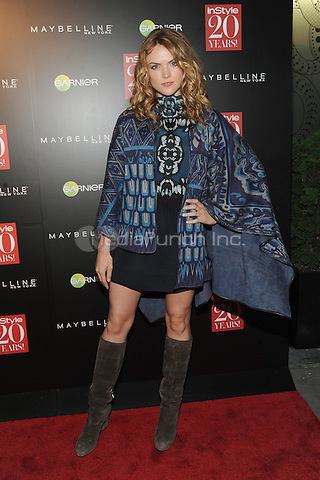 New York, NY-September 8: Erin Richards attends Instyle 20th Anniversary Party on September 8, 2014 at Diamond Horseshoe at the Paramount Hotel in New York City.  Credit: John Palmer/MediaPunch