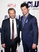 BEVERLY HILLS, CA - DECEMBER 3: Judd Apatow, Billy Eichner, at ACLU SoCal's Annual Bill Of Rights Dinner at the Beverly Wilshire Four Seasons Hotel in Beverly Hills, California on December 3, 2017. Credit: Faye Sadou/MediaPunch /NortePhoto.com NORTEPHOTOMEXICO