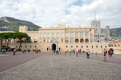 The Prince's Palace of Monaco, the official residence of the Prince of Monaco, currently Prince Albert II, in Monaco on Monday, October 21, 2013.<br /> Credit: Ron Sachs / CNP