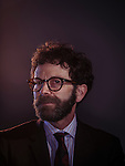 Charlie Kaufman, Photographed at the Oscar Luncheon at The Beverly Hilton February 8, 2016