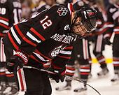Zach Aston-Reese (NU - 12) - The Harvard University Crimson defeated the Northeastern University Huskies 4-3 in the opening game of the 2017 Beanpot on Monday, February 6, 2017, at TD Garden in Boston, Massachusetts.