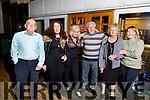 Mick Murphy, Sharon Behan, Patricia O'Donovan, Ray Shorten, Nuala Molloy and Alice Smith enjoying the Tralee Octoberfest Motown show, in the Brandon Hotel on Friday night.