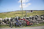 Bikes on Inishmore, Aran Islands, Ireland