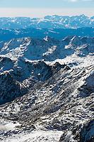 Collegiate Range, Rocky Mountains of Colorado.  Nov 2012