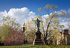 Apr. 26, 2011; Main Quad ..Photo by Matt Cashore/University of Notre Dame