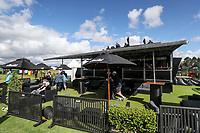 Love Golf lounge. McKayson NZ Women's Golf Open, Round Three, Windross Farm Golf Course, Manukau, Auckland, New Zealand, Saturday 30 September 2017.  Photo: Simon Watts/www.bwmedia.co.nz