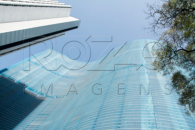 Edifício Copan, projetado por Oscar Niemeyer, São Paulo - SP, 07/2016.