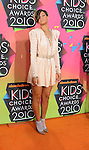 LOS ANGELES, CA. - March 27: Rihanna  arrives at Nickelodeon's 23rd Annual Kid's Choice Awards at Pauley Pavilion on March 27, 2010 in Los Angeles, California.