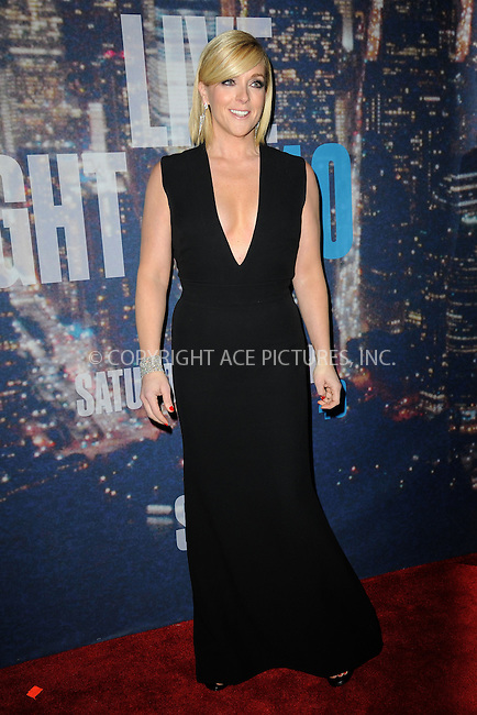 WWW.ACEPIXS.COM<br /> February 15, 2015 New York City<br /> <br /> Jane Krakowski walking the red carpet at the SNL 40th Anniversary Special at 30 Rockefeller Plaza on February 15, 2015 in New York City.<br /> <br /> Please byline: Kristin Callahan/AcePictures<br /> <br /> ACEPIXS.COM<br /> <br /> Tel: (646) 769 0430<br /> e-mail: info@acepixs.com<br /> web: http://www.acepixs.com