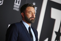LOS ANGELES, CA - NOVEMBER 13: Ben Affleck at the Justice League film Premiere on November 13, 2017 at the Dolby Theatre in Los Angeles, California. Credit: Faye Sadou/MediaPunch
