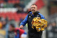 Steve Middleton of Bath Rugby looks on prior to the match. Gallagher Premiership match, between Leicester Tigers and Bath Rugby on May 18, 2019 at Welford Road in Leicester, England. Photo by: Patrick Khachfe / Onside Images