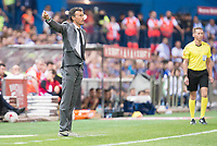 FC Barcelona's coach Luis Enrique Martinez during Copa del Rey (King's Cup) Final between Deportivo Alaves and FC Barcelona at Vicente Calderon Stadium in Madrid, May 27, 2017. Spain.<br /> (ALTERPHOTOS/BorjaB.Hojas) /NortePhoto.com