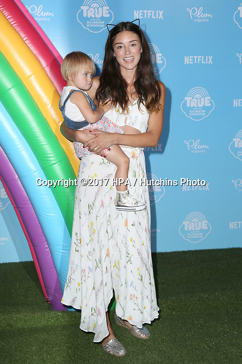 LOS ANGELES - AUG 10:  Caroline DAmore, Guest at the True and the Rainbow Kingdom Series LA Premiere at the Pacific Theater At The Grove on August 10, 2017 in Los Angeles, CA