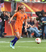 20170806 - ENSCHEDE , NETHERLANDS : Dutch Desiree van Lunteren    pictured during the female soccer game between The Netherlands and Denmark  , the final at the Women's Euro 2017 , European Championship in The Netherlands 2017 , Sunday 6th of August 2017 at Grolsch Veste Stadion FC Twente in Enschede , The Netherlands PHOTO SPORTPIX.BE | DIRK VUYLSTEKE