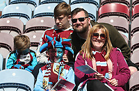 Burnley Fans before kick off<br /> <br /> Photographer Rachel Holborn/CameraSport<br /> <br /> The Premier League - Burnley v Manchester United - Sunday 23rd April 2017 - Turf Moor - Burnley<br /> <br /> World Copyright &copy; 2017 CameraSport. All rights reserved. 43 Linden Ave. Countesthorpe. Leicester. England. LE8 5PG - Tel: +44 (0) 116 277 4147 - admin@camerasport.com - www.camerasport.com