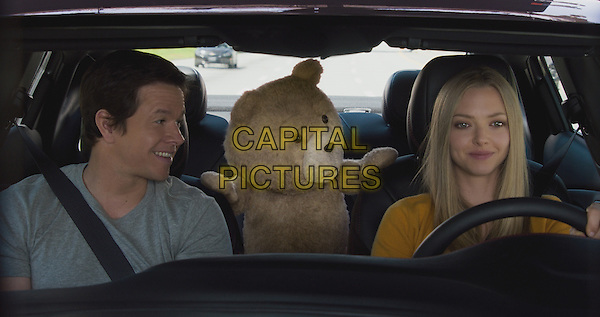 Ted 2 (2015) <br /> Mark Wahlberg, Ted (voice of Seth MacFarlane), Amanda Seyfried<br /> *Filmstill - Editorial Use Only*<br /> CAP/KFS<br /> Image supplied by Capital Pictures