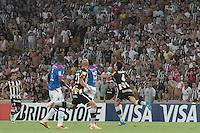 RIO DE JANEIRO, RJ, 05.02.2014 - Bolívar  do Botafogo durante o jogo desta noite pela Libertadores contra Deportivo Quito no Estádio Mário Filho, o Maracanã. (Foto. Néstor J. Beremblum / Brazil Photo Press)