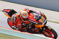 15.06.2013 Barcelona, Spain. Aperol  Catalonia Grand Prix. Picture show Ricard Cardus ridding Speed Up during Moto2 qualifyng at Circuit de Catalunya