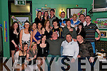 18: Martin Halpin, Listowel (seated centre) celebrating his 18th birthday with family & friends in The New Kingdom Bar, Listowel, on Saturday Night...(Contact Martin 0877569402)