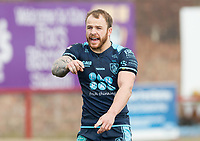 Picture by Allan McKenzie/SWpix.com - 25/03/2018 - Rugby League - Betfred Championship - Batley Bulldogs v Featherstone Rovers - Heritage Road, Batley, England - Matty Wildie.