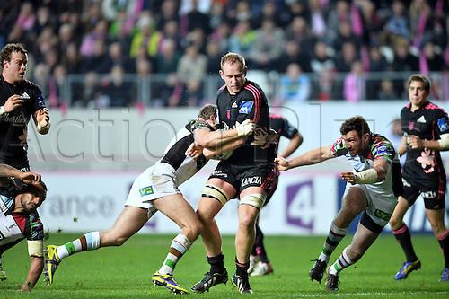 04.04.2014. Paris, France. Amlin Challenge Cup Rugby. Stade Francais versus Harlequins.  Carl Wegner (sf)