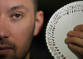 Magician Ryan Davidson in Castlemilk - Picture by Donald MacLeod  31.3.12  07702 319 738  clanmacleod@btinternet.com