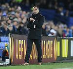 Roberto Martinez manager of Everton - UEFA Europa League Round of 32 Second Leg - Everton vs Young Boys - Goodison Park Stadium - Liverpool - England - 26th February 2015 - Picture Simon Bellis/Sportimage