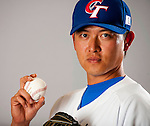 Wang, Chien-Ming of Team Chinese Taipei poses during WBC Photo Day on February 25, 2013 in Taichung, Taiwan. Photo by Victor Fraile / The Power of Sport Images