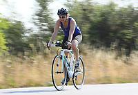 Claudia Hermann auf dem Rad - Mörfelden-Walldorf 15.07.2018: 10. MöWathlon