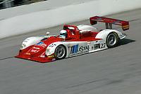 The #27 Dallara Judd of Didier Theys, Mauro Baldi, Max Papis, and Fredy Lienhard races to victory in the 24 Hours of Daytona, Daytona International Speedway, Daytona Beach, FL, February 3, 2002.  (Photo by Brian Cleary/www.bcpix.com)