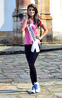 OURO PRETO, MG, 20.09.2013 - MISS BRASIL 2013 - Miss Distrito Federal, Nathalia Costa candidata a Miss Brasil 2013 durante visita a cidade historica de Ouro Preto a 100 km de Belo Horizonte. (Foto: Eduardo Tropia / Brazil Photo Press)