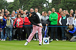 Matteo Manassero (ITA) tees off on the 11th tee during Day 3 of the BMW PGA Championship Championship at, Wentworth Club, Surrey, England, 28th May 2011. (Photo Eoin Clarke/Golffile 2011)