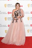 Caroline Flack<br /> in the winners room for the BAFTA TV Awards 2018 at the Royal Festival Hall, London<br /> <br /> ©Ash Knotek  D3401  13/05/2018