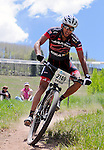 June 8, 2013:  Utah's, Ishay Rotem, during mountain bike action during the GoPro Mountain Games, Vail, Colorado.  Adventure athletes from around the world converge on Vail, Colorado, June 6-9, for America's largest celebration of adventure sports, music and the mountain lifestyle.