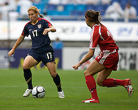 Lori Chalupny.  The USWNT defeated Canada, 1-0, at Suwon World Cup Stadium in Suwon, South Korea, to win the Peace Queen Cup.