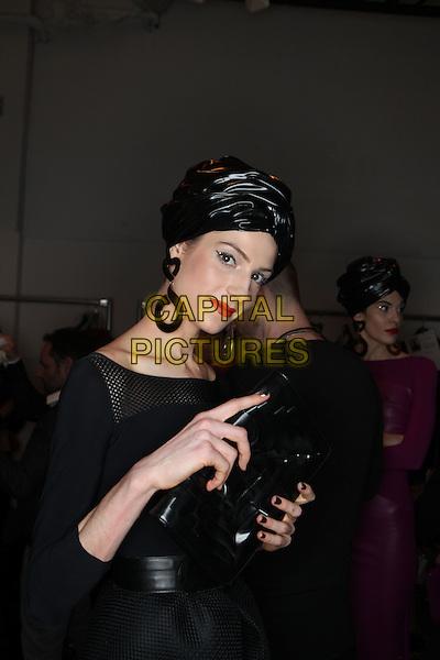CHIARA BONI<br /> New York Fashion Week FW 17 18<br /> in New York, USA February 2017.<br /> CAP/GOL<br /> &copy;GOL/Capital Pictures