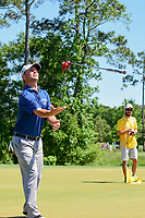 Spencer Levin (USA) tosses his putter after missing his putt on 12 during round 2 of the Shell Houston Open, Golf Club of Houston, Houston, Texas, USA. 3/31/2017.<br /> Picture: Golffile | Ken Murray<br /> <br /> <br /> All photo usage must carry mandatory copyright credit (&copy; Golffile | Ken Murray)