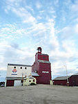 WALLY BAUMAN PHOTOGRAPHY . Grain storage elevator.