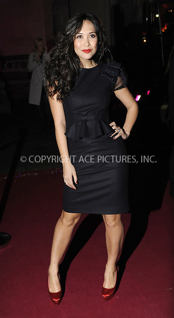 WWW.ACEPIXS.COM . . . . .  ..... . . . . US SALES ONLY . . . . .....December 9 2009, london....Myleene Klass arriving at the British Fashion Awards at Royal Courts of Justiceon The Strand on December 9, 2009 in London, England.......Please byline: FAMOUS-ACE PICTURES... . . . .  ....Ace Pictures, Inc:  ..tel: (212) 243 8787 or (646) 769 0430..e-mail: info@acepixs.com..web: http://www.acepixs.com
