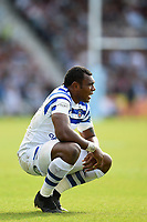 Semesa Rokoduguni of Bath Rugby looks on during a break in play. Gallagher Premiership match, between Harlequins and Bath Rugby on September 15, 2018 at the Twickenham Stoop in London, England. Photo by: Patrick Khachfe / Onside Images