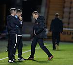 11.05.2018 Livingston v Dundee Utd: Csaba Laszlo dejected